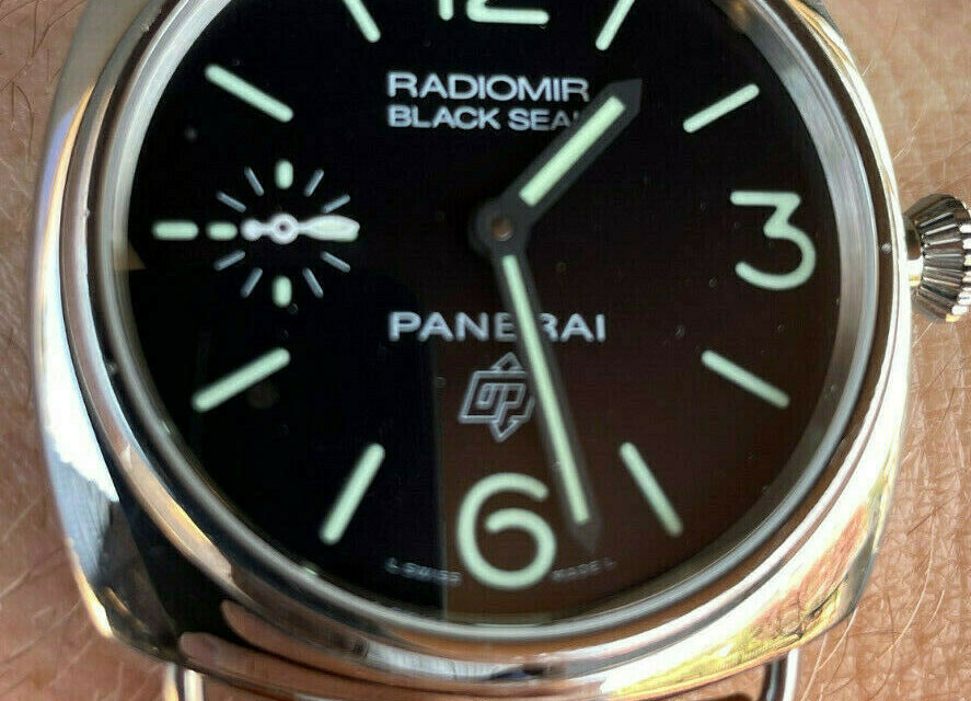 Panerai Radiomir Black Seal Limited Box Papers 100% Authentic Retail $8,000 A+++