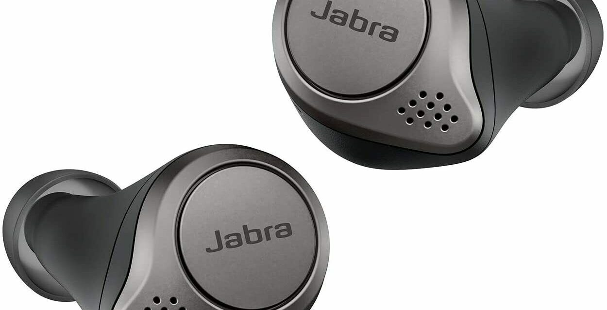 Jabra Elite Active 75t Wireless Charging Grey Certified Refurbished