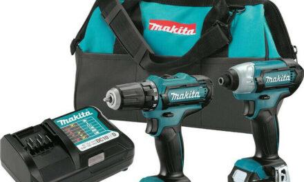Makita CXT 12V 1/4″ Impact & 3/8″ Drill Driver Kit CT226-R Certified Refurbished