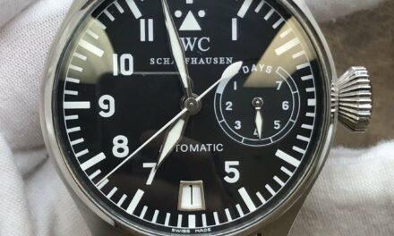 IWC Big Pilot IW500201 Black Dial Automatic Men's Watch