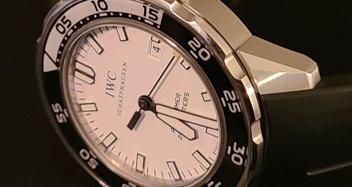 IWC Aquatimer White Men's Watch – IW356811
