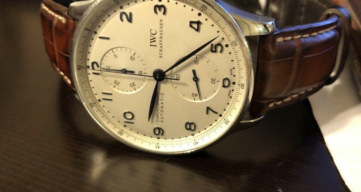 IWC  Portuguese 3714 Wrist Watch for Men