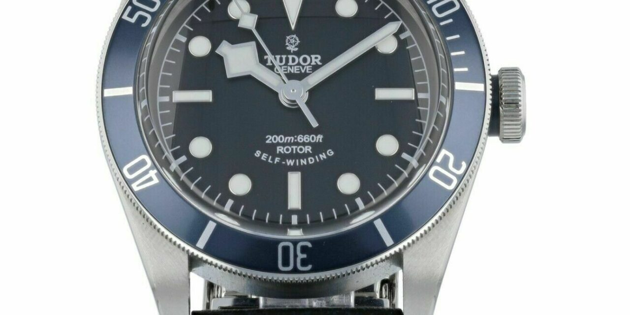 Tudor Heritage Automatic Chronometer Black Dial 41mm Men's Watch 79220