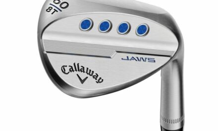 CALLAWAY JAWS MD5 RAW APPROACH WEDGE 50°-10° (BOUNCE) S GRIND GRAPHITE 6.0