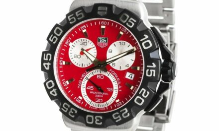Tag Heuer CAH1112.BA0850 Formula 1 44MM Men's Chronograph Stainless Steel Watch