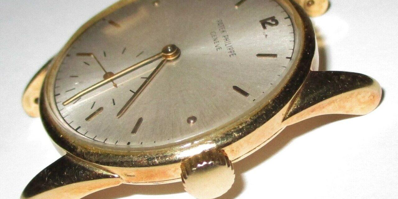 Vintage Patek Philippe 1517 – 18K Solid Gold Men's Watch
