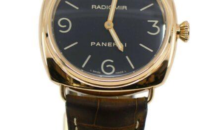 Panerai Radiomir 18K Rose Gold Watch PAM231