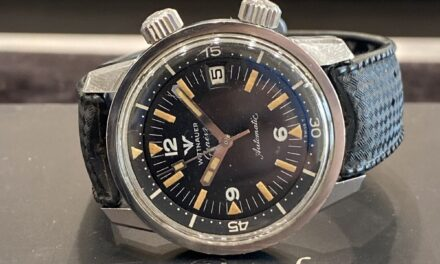 Longinges Wittnauer Super Compressor Automatic Vintage Divers Watch 8007