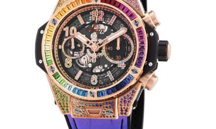 Hublot Big Bang Unico King Gold Rainbow Automatic Men's Watch