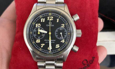 OMEGA Dynamic Men's Black Watch – 5240.50.00
