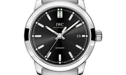 New IWC Ingenieur Automatic Black Dial Stainless Steel Men's Watch IW357002
