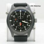 IWC Schaffhausen Pilot Double Chronograph Edition TOP GUN Ceramic IW379901 B&P