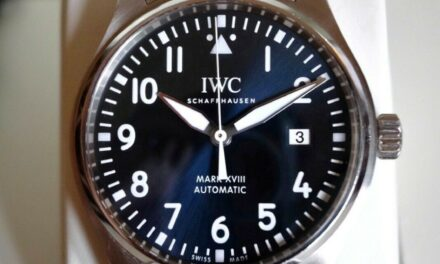 IWC Mark XVIII Le Petit Prince Blue Dial 40mm IW327014 Complete Set! Extra Strap