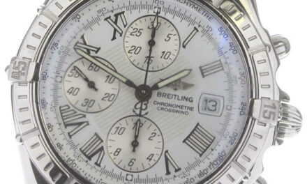 BREITLING Crosswind A13355 Chronograph white Dial Automatic Men's Watch_608852