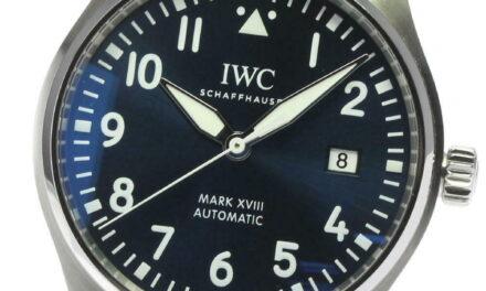 IWC Pilot Mark XVIII LE PETIT PRINCE IW327004 Navy Dial Auto Men's Watch_608644