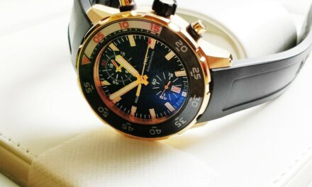IWC Aquatimer Chronograph 18k Rose Gold Diver Mens Watch 44mm