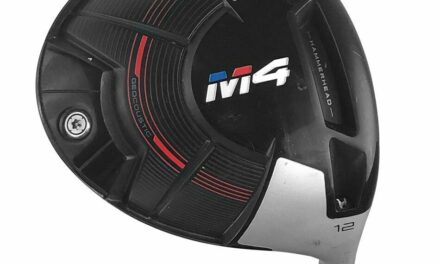 LEFT HANDED TAYLORMADE 2018 M4 DRIVER 9.5° GRAPHITE STIFF