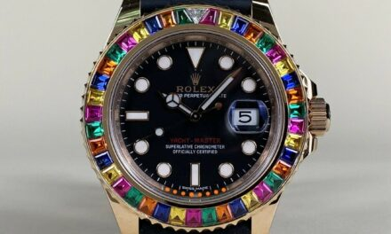 """*Rare* Rolex Yacht-Master 18K Rose Gold """"Tutti Frutti"""" Watch 116655 in FULL SET"""