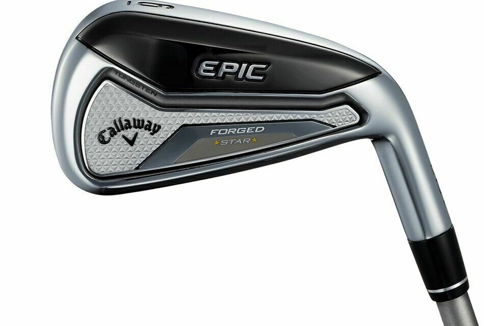 CALLAWAY 2019 EPIC FORGED STAR JAPANESE VERSION 5 IRON GRAPHITE LIGHT