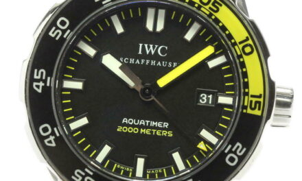 IWC Aquatimer 2000 IW356810 Black Dial Automatic Men's Watch_602091