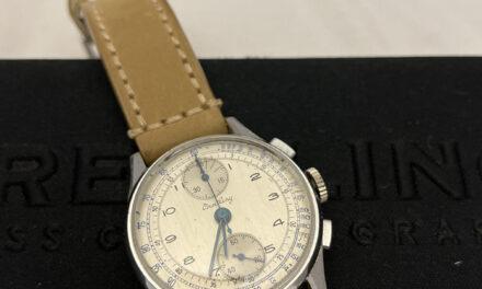 vintage breitling venus 170 chronograph