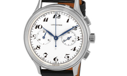 Longines Heritage Classic Chronograph 1946 Automatic Silver Dial Men's Watch