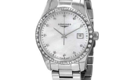 Longines Conquest Classic Quartz Diamond Ladies Watch L2.386.0.87.6