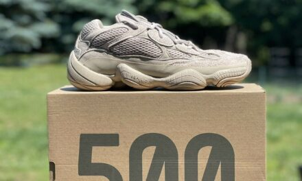 Adidas Yeezy 500 Low Taupe Light GX3605 (Sizes 6-11.5) IN HAND