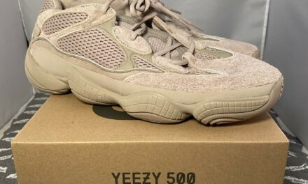 Adidas Yeezy 500 'Taupe Light' Men's size 12 (GX3605) In Hand