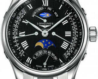 Brand New Longines Master Collection Black Dial Men's Watch L2.739.4.51.6 Sale