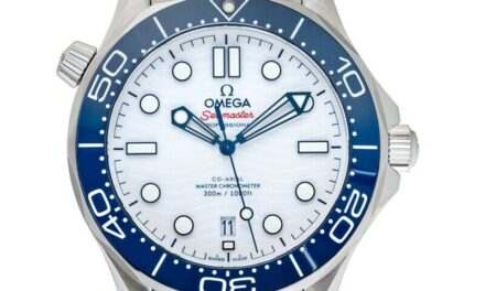 OMEGA  Seamaster  522.30.42.20.04.001 White Dial Men's Watch Genuine FreeS&H