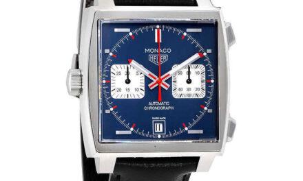 Tag Heuer Monaco Automatic Denim Blue Dial Men's Watch CAW211P.FC6356