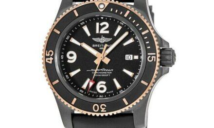 New Breitling Superocean Automatic 46 Black Dial Men's Watch U17368221B1S1