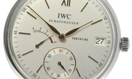 IWC SCHAFFHAUSEN Portofino 8 Days IW510103 Hand Winding Men's Watch_602677
