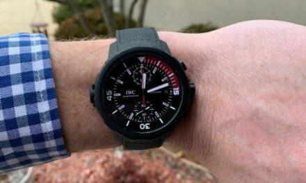 IWC Aquatimer 379050 Limited Edition Black 44MM