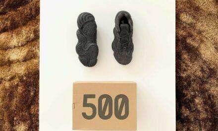 yeezy 500 Utility Black Size 9 New with box
