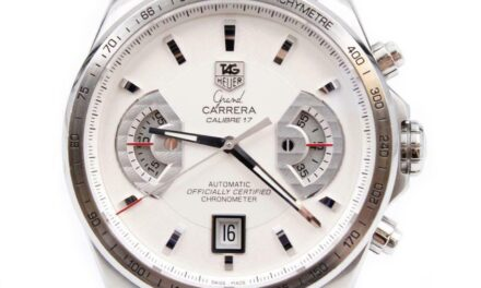 Tag Heuer Grand Carrera Chronograph CAV511B, Calibre 17 Automatic Mens Watch
