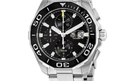 New Tag Heuer Aquaracer Chronograph Automatic Men's Watch CAY211A.BA0927