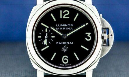 Panerai Luminor Marina Logo SS Manual 44MM COMPLETE