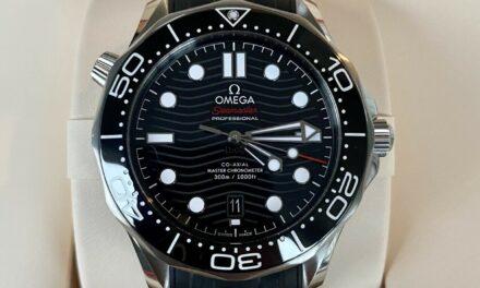 Omega Seamaster Professional Diver 2021 SMP 300M Black Wave 210.30.42.20.01.001