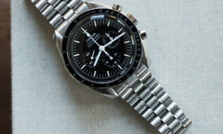 2021 Omega Speedmaster Professional hesalite 3861 co-axial box and papers