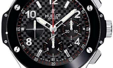 Hublot Big Bang, Original Steel Ceramic 44mm, Ref# 301.SB.131.RX, Black dial
