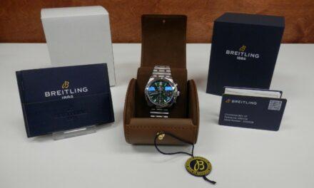 Breitling Chronomat B01 Chronograph 42mm Bentley Wristwatch AB01343A1L1A1