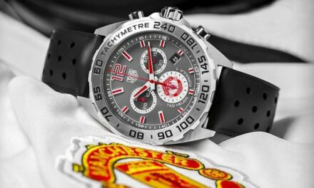 TAG HEUER FORMULA 1 MANCHESTER UNITED LIMITED WATCH 43MM NEW *WORLDWIDE SHIPPING
