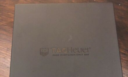 Tag Heuer women's blue faced Carrera watch