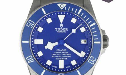 2020 Tudor Pelagos BLUE Titanium 42mm 25600 Auto 25600TB Dive Ceramic Watch