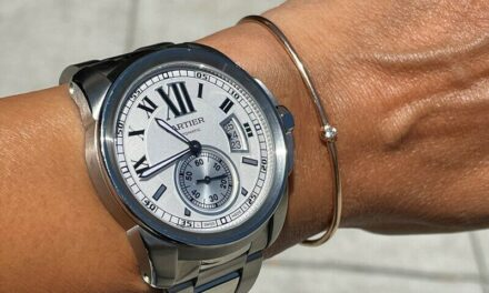Cartier Calibre Stainless Steel 3389 Complete Box & Papers