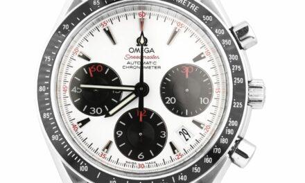Omega Speedmaster 40 mm Chronograph Stainless Panda Dial 323.30.40.40.04.001
