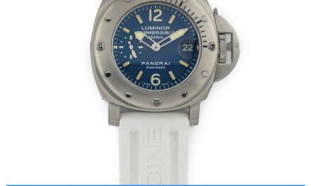 Panerai Luminor Submersible 1000m PAM87 Discontinued BLUE Dial Diver