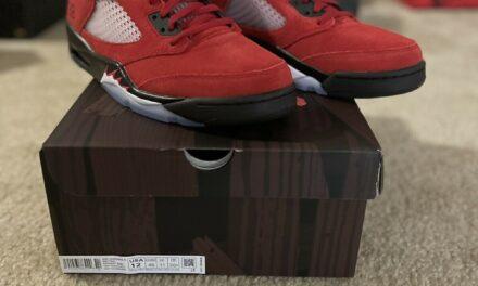 Air Jordan 5 Retro 'Raging Bull' 2021 Size 12